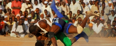 Нуба - автентична борба по судански