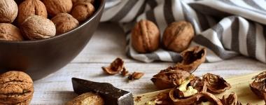 55-85 гр. орехи дневно за подобрена чревна флора и по-здраво сърце