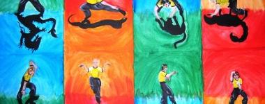 Кунг фу и неговите пет основни животински стила – тигър, леопард, жерав, змия и дракон