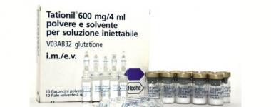 Татионил – най-ефективният източник на глутатион за детоксикация на черния дроб