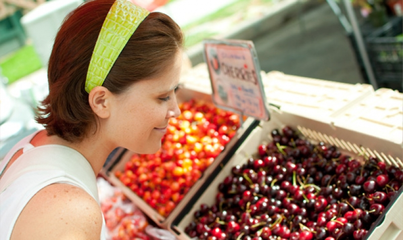 Красивата кожа иска плодове и зеленчуци