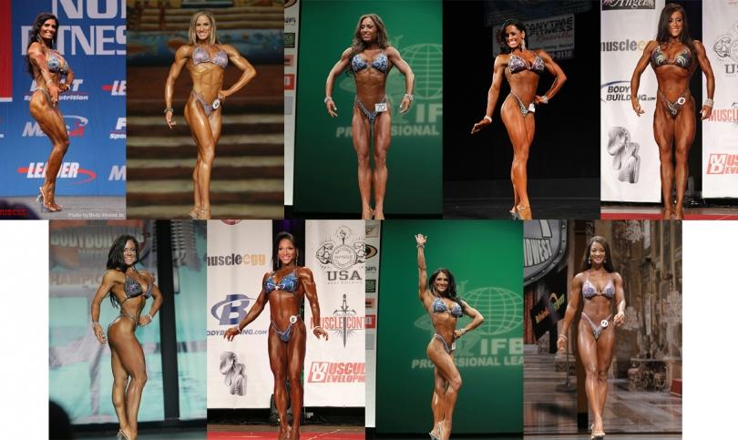 Дамите със зашеметяваща фигура, които ще спорят за титлата 2013 Figure Olympia (Част първа)(Видео)