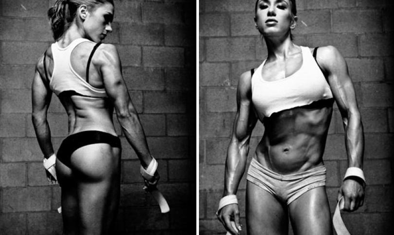 Уникалната Полин, която пребори анорексията с фитнес