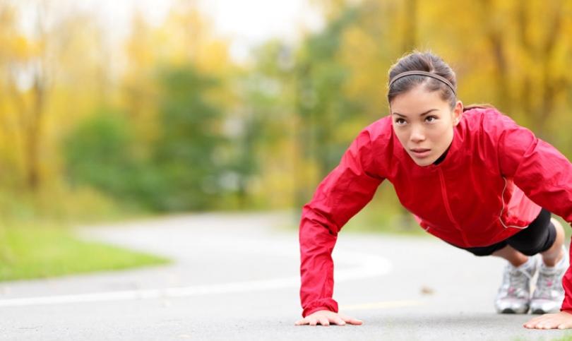 5-те най-добри упражнения със собствено тегло за дами