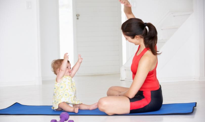 Съвети за новите майки - как да стегнете тялото си след раждането