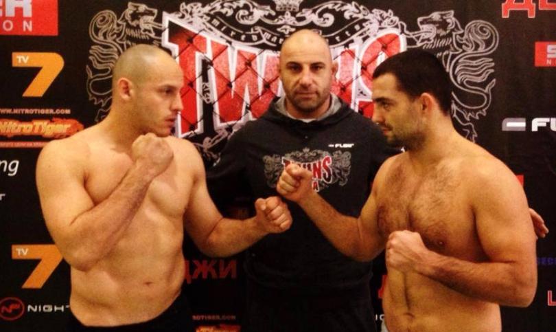 TWINS MMA 3 - Близнакът се разправи с по-тежък противник, серия зрелищни нокаути взриви публиката!