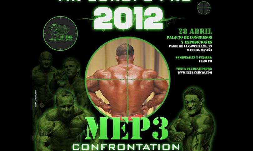 Следващият претендент за титлата MR. OLYMPIA 2012 ще стане ясен в Мадрид