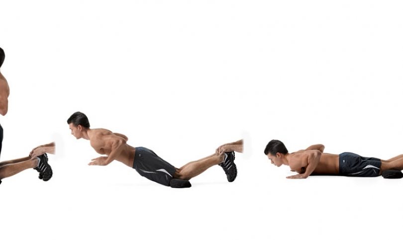 Повдигане за глутеуси и задни бедрени мускули (Floor Glute-Ham Raise, Glute Ham Raise)
